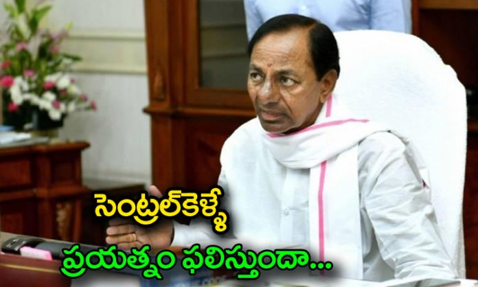 kcr concentrate on national wide politics