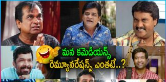 Tollywood Comedians Remuneration