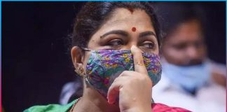 Step into BJP Kushboo in grave danger