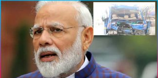 Terrible accident in Gujarat Modi found out