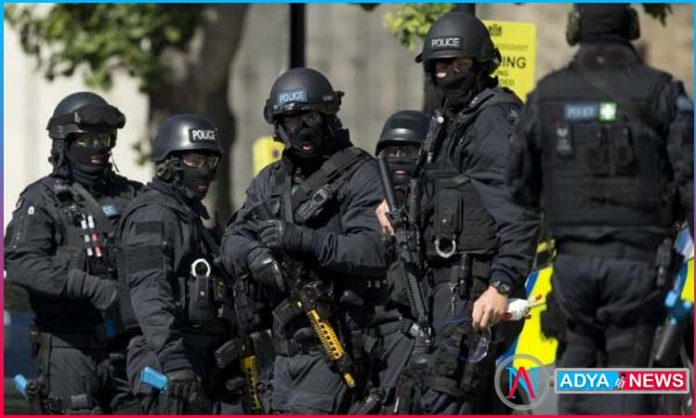 Counter Terrorism Operation in London