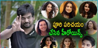 Puri Jagannadh Introduced Heroines to Tollywood