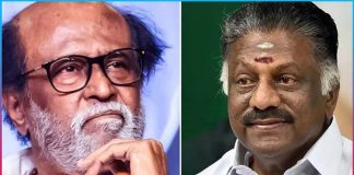 Panneer Selvam prepares to set foot with Rajini