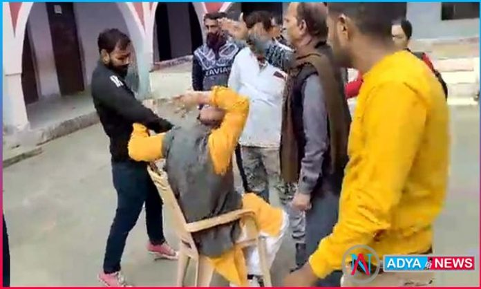 Attack on a BJP MLA The video of him being tied to a chair is viral