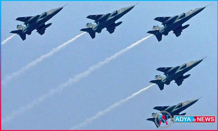 Only to improve the maneuvers of the Indian Air Force