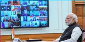Modi video conference today Final call to CMs on vaccination