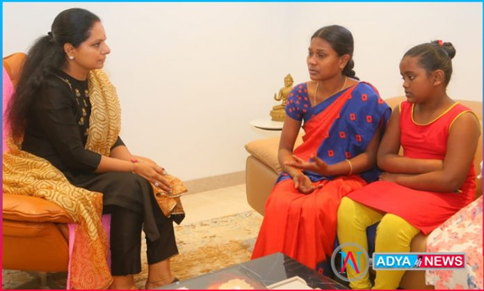 MLC Kavitha Akka has really become Akka