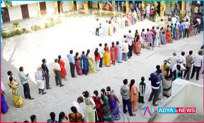 sagar and tirupathi by election polling continues