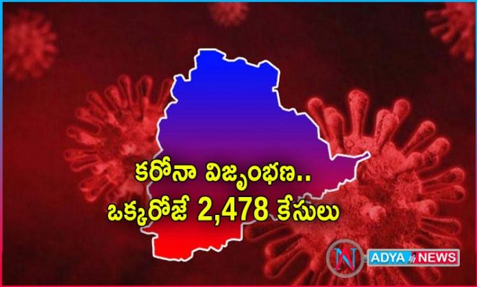 positive cases covid19 in telangana