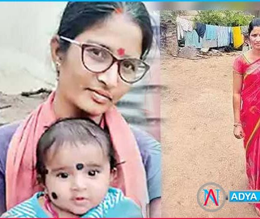 mother killed six month old baby in suryapet