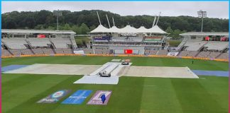 wtc final between team india and new zeland delayed due to rain in southampton
