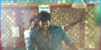 hero vishal narrow escape from a mishap in shooting