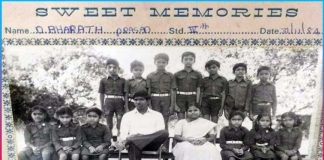 minister ktr Share his 4th class pic