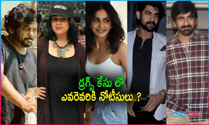 Drugs Case : ED summons 12 Tollywood Celebrities