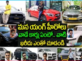 Tollywood Actors and Their Luxury Car Collection