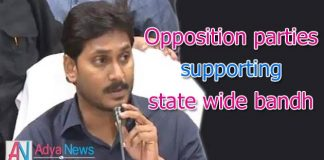 AP bandh success, people supported for SCS demand