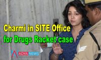 Charmy in SIT Office for Drugs Racket case