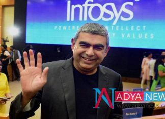 After the Vishal Resigns , Infosys droped by 9%
