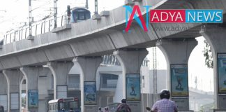 GPS system connecting with metro Pillars in Hyderabad