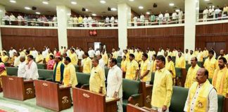 Rulling party in Assembly sessions without opposition party