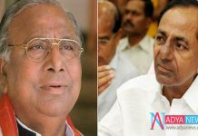Once Again Congress MP Hanumantha Rao in News about KCR