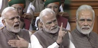 Prime Minister's Speech At Parliament on Telugu state People