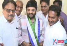 Another Tollywood Actor Joined In YCP In Presence Of YS Jagan
