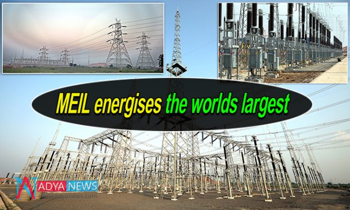 MEIL energises the worlds largest... Pump houses of Kaleshwaram Project