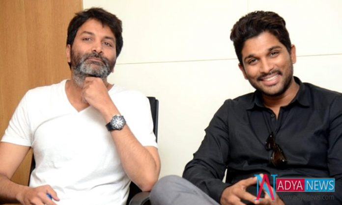 Allu Arjun and Trivikram Collaboration Officially Announced