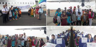 Air Travel Experience to Orphan Children by Trujet