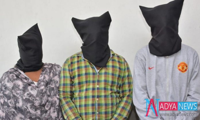 Police Arrested Three Persons For Stealing Money From ATM