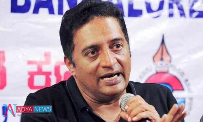 Actor Prakash Raj Made His Political Announcement Official On New Year Eve
