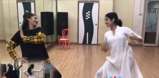 Sridevi Daughter making an Web sensation By showing Talented Skills