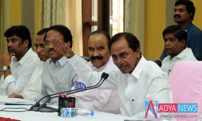 We are Thinking About New Generation Cabinet in Telangana : KCR
