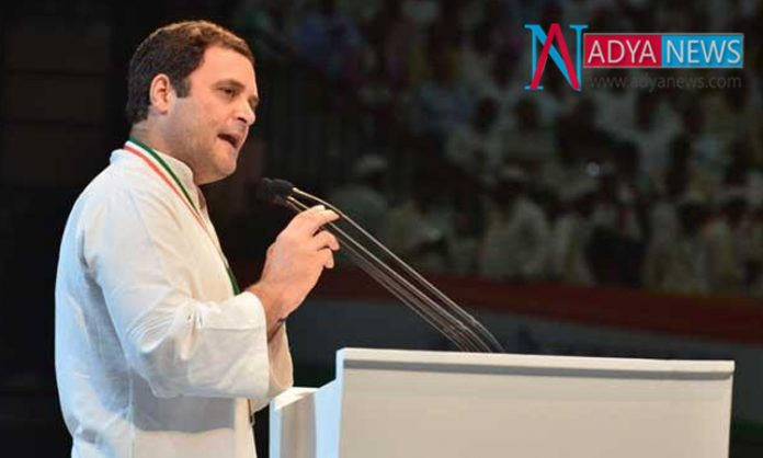Special Category Status guaranteed...If Congress Gets Control In AP : Rahul Gandhi