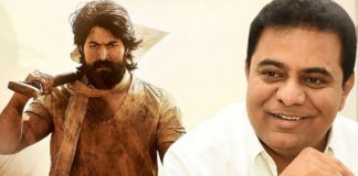 It's Been A Long Time To KTR For Speaking About Movies