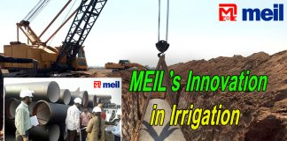 MEIL's Innovation in Irrigation