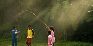 Many Issues Will be Solved In children When they Close to Nature