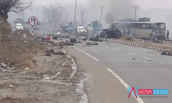 About 30 Jawans are died In a Major Terrorist Attack