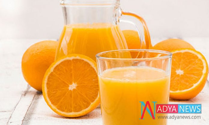 Reduce of Heart Strokes By Drinking Orange Juice Daily