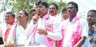 Suddenly People Shocked With TRS MP Candidate's TDP Campaign