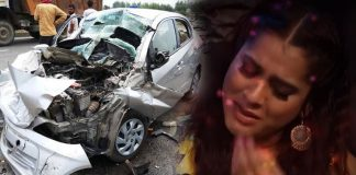 Jabardasth Anchor Gets Troubles With Her New car Accident