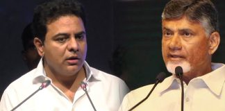 This Shows The Behaviour of Chandrababu : KTR Fired