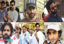 Here We Can See The Tollywood Star's Voting For The Better Feature of Telugu States