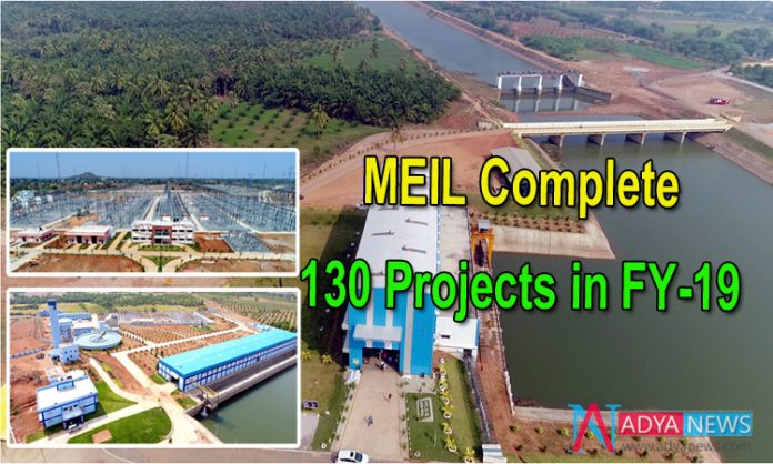 MEIL Complete 130 Projects in FY-19
