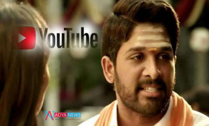 Allu Arjun Raised To Top Position In Youtube With DJ Movie