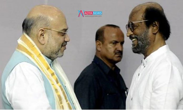 BJP Supremo Offer a Biggest Role For Rajinikanth To Active In Tamil Politics