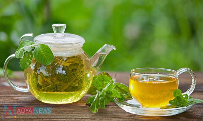 To get Good And Healthy Skin….Try To Use Green Tea Daily