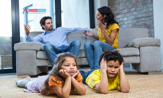 Parents Work Busy Creates the Disturbance With Children
