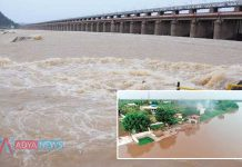 Water In Prakasam Barrage Crossed Dangerous Mark